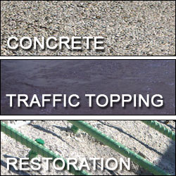 Concrete; Traffic Topping; Restoration